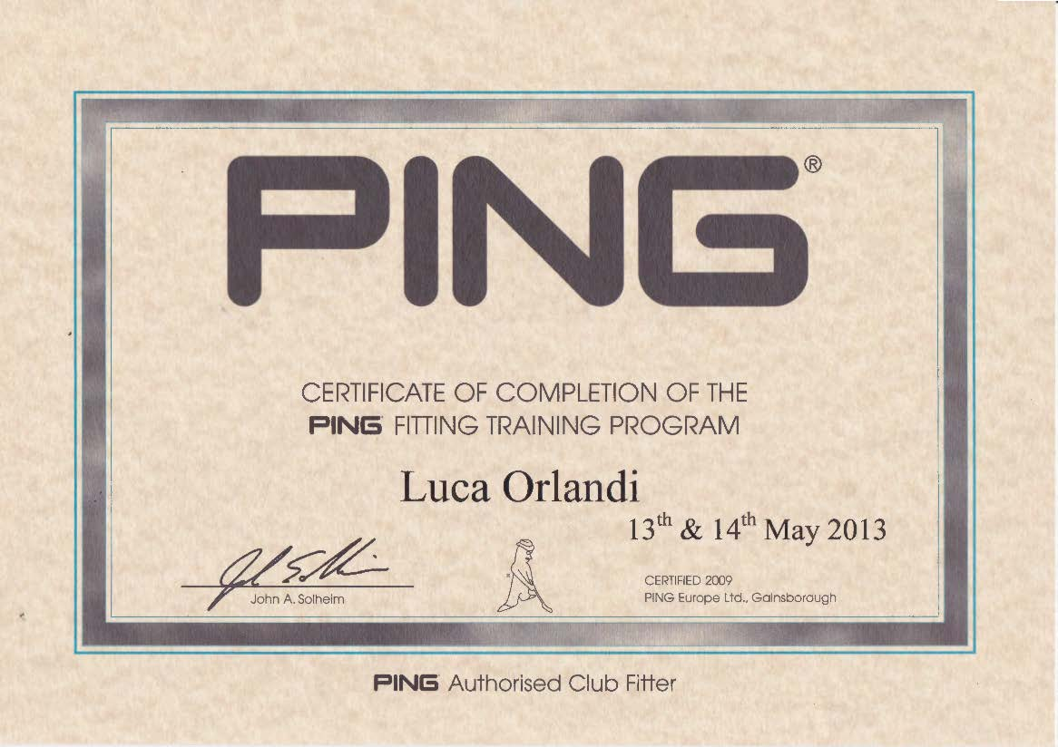 Ping Fitter Luca